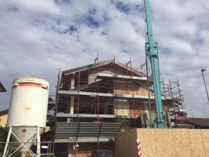 Edil Lambro Costruzioni - Cantiere Costruzione Villa