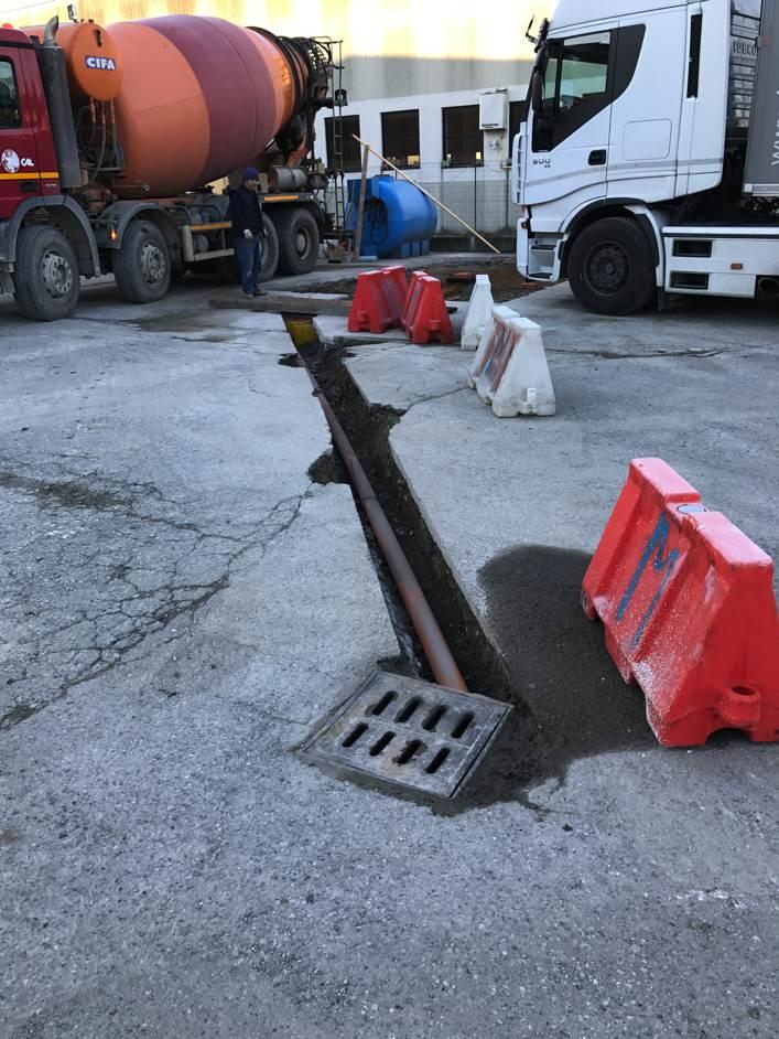 piazzale cisterna gasolio