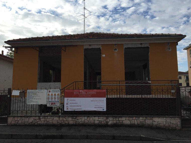 ristrutturazione villa lodi vecchio