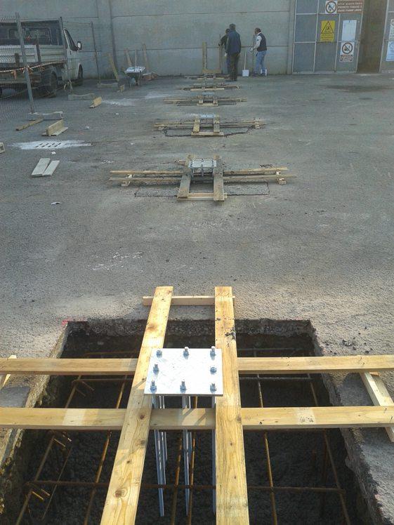 costruzione capannone in ferro lodi