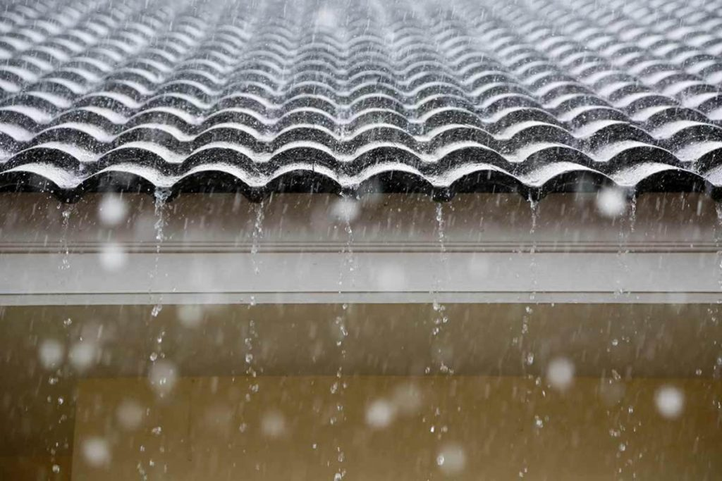 agenti atmosferici tetto