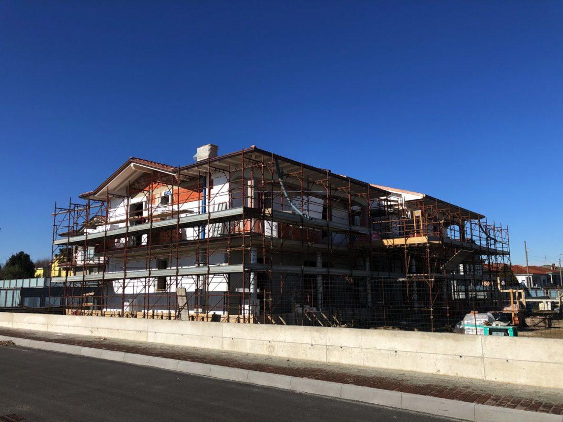 edillambro aggiornamento cantiere i giardini residenza dalia febbraio 2020